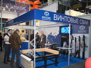 Компания Фундэкс рассказала о винтовых сваях на выставке в Хабаровске