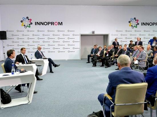 Винтовые сваи «Фундэкс» на выставке «Иннопром-2013» в Екатеринбурге