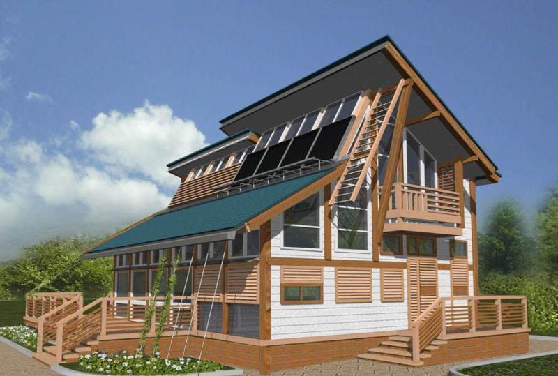 Компания «Фундэкс» построит дом будущего на винтовых сваях