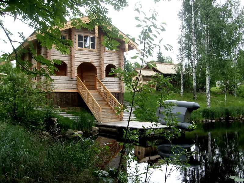 Построй себе дом у воды на винтовых сваях «Фундэкс»!