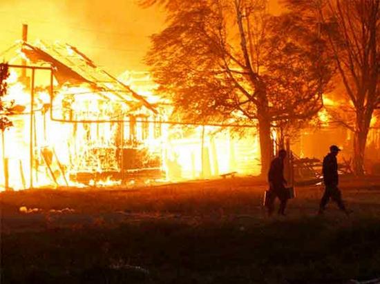 Винтовые сваи «Фундэкс» - эффективная защита от пожаров