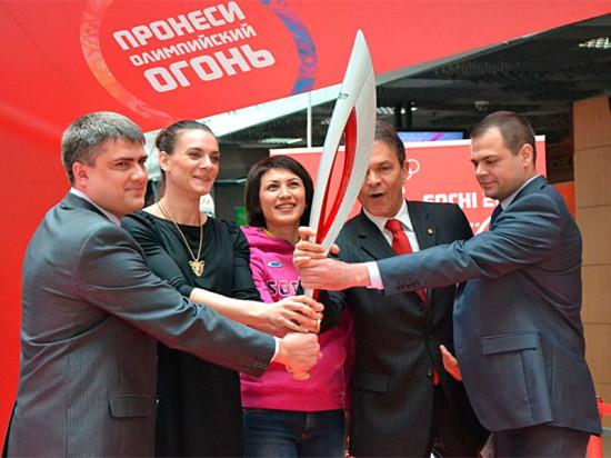 «Фундэкс» поддержал эстафету Олимпийского огня
