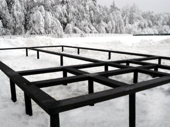 «Фундэкс» рассказал о том, почему возможен зимний монтаж винтовых свай