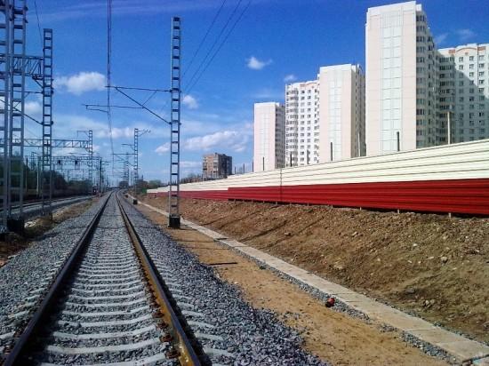 «Фундэкс» предложил помощь ОАО «РЖД» при установке шумозащитных экранов в Ленинградской области