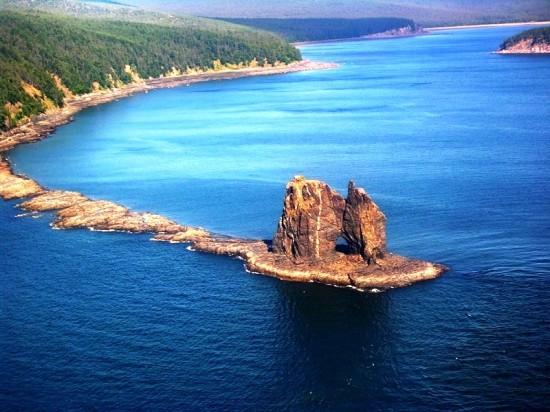 Винтовые сваи «Фундэкс» и национальный парк на Шантарских островах