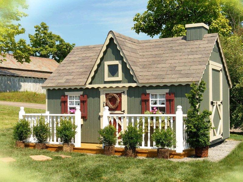Как покрасить дом на даче своими руками 27
