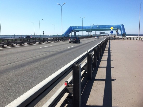 На винтовые сваи «Фундэкс» ставят объекты дорожной инфраструктуры