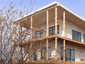 Дом в Казани на участке с перепадами высот на фундаменте «Фундэкс»
