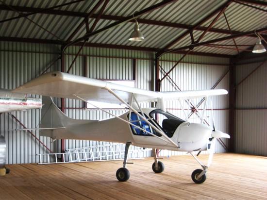 Винтовые сваи «Фундэкс» под ангары для малой авиации