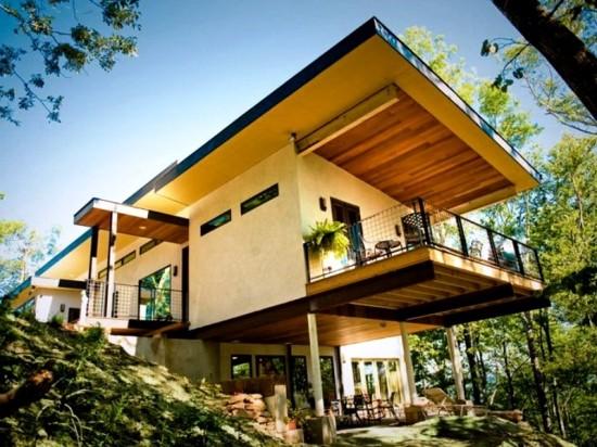 Дизайнерские дома на винтовых сваях «Фундэкс»