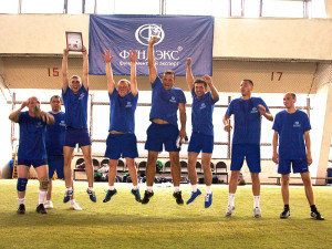 Команда «Фундэкс» приняла участие в турнире по мини-футболу на «Кубок PiterStroyCup 2014»
