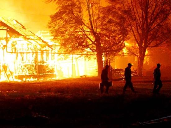 Дома на винтовых сваях «Фундэкс» лучше защищены от пожаров