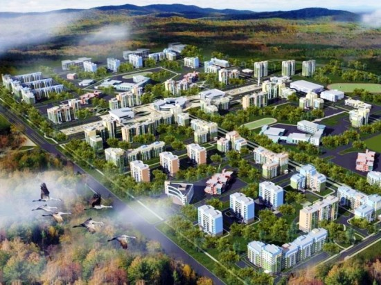 Строительство нового города рядом с космодромом «Восточный» и технология «Фундэкс»