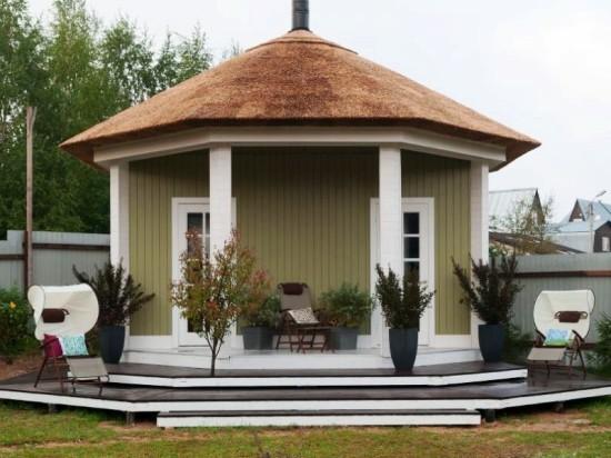 Всесезонный «Гриль-домик» «Фазенда» построила на сваях «Фундэкс»
