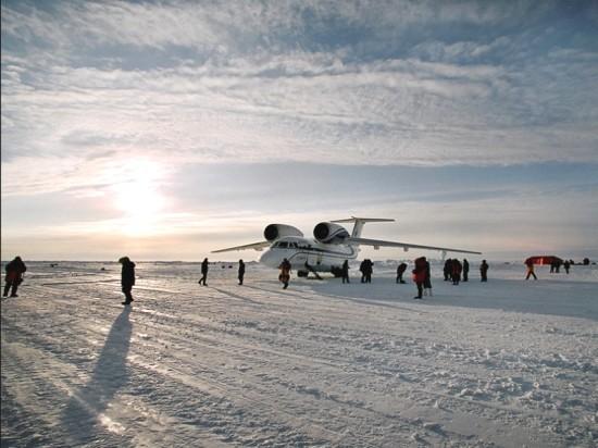Винтовые сваи «Фундэкс» для аэродромов Арктики