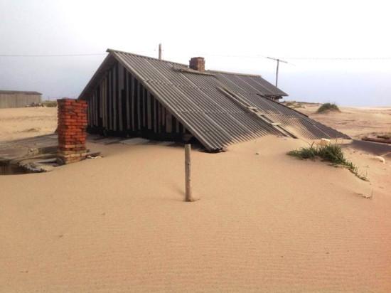Винтовые сваи «Фундэкс» как защита от наступления песков