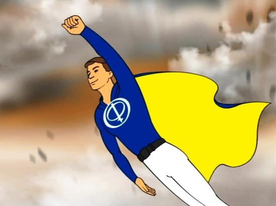 Анимационные герои рассказывают о винтовых сваях «Фундэкс»