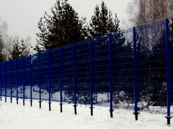 3D-забор на винтовых сваях «Фундэкс»