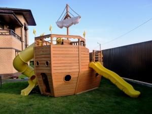 Безопасные детские площадки на винтовых сваях «Фундэкс»