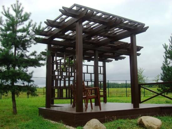 Экологичные и надежные винтовые сваи «Фундэкс» идеально подходят для воплощения проектов малых архитектурных форм